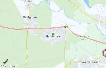 Stadtplan Hambühren