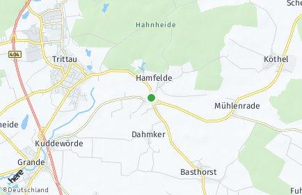 Stadtplan Hamfelde (Lauenburg)