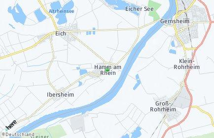Stadtplan Hamm am Rhein