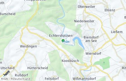 Stadtplan Hamm (Eifel)