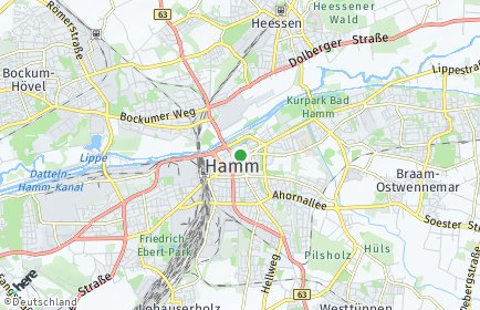 Stadtplan Hamm