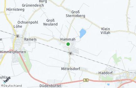 Stadtplan Hammah