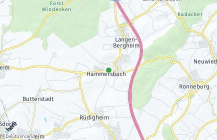 Stadtplan Hammersbach