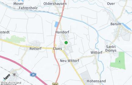 Stadtplan Handorf