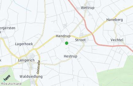 Stadtplan Handrup