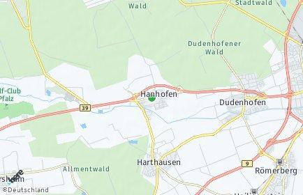 Stadtplan Hanhofen