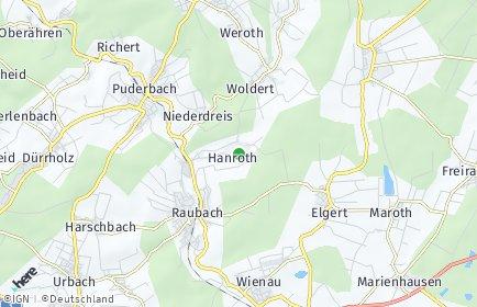 Stadtplan Hanroth
