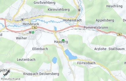 Stadtplan Happurg