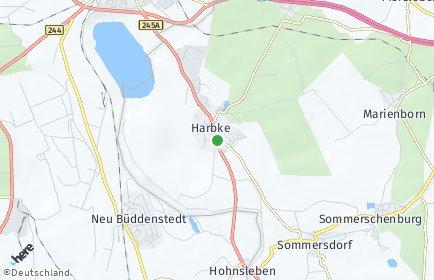 Stadtplan Harbke