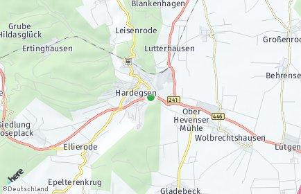 Stadtplan Hardegsen