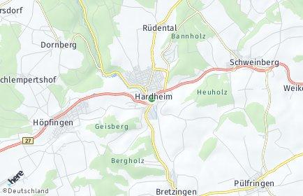 Stadtplan Hardheim