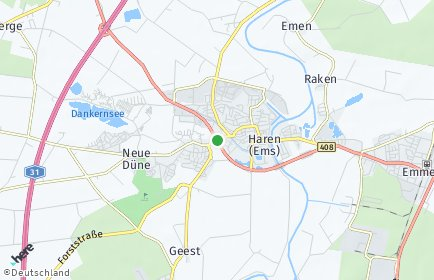 Stadtplan Haren (Ems)