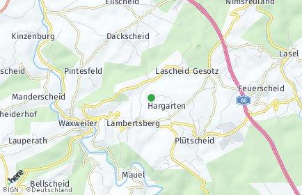Stadtplan Hargarten