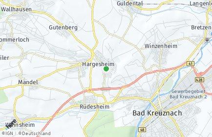 Stadtplan Hargesheim