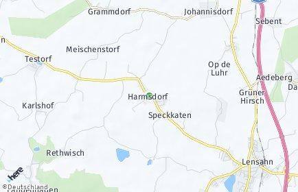 Stadtplan Harmsdorf (Ostholstein)