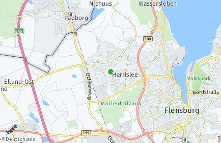 Stadtplan Harrislee