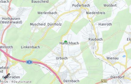 Stadtplan Harschbach