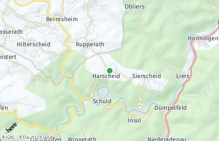 Stadtplan Harscheid