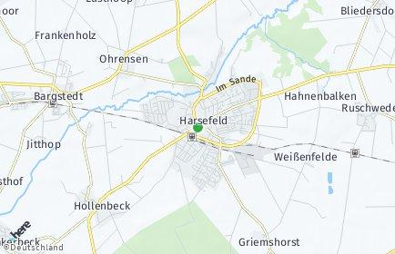 Stadtplan Harsefeld
