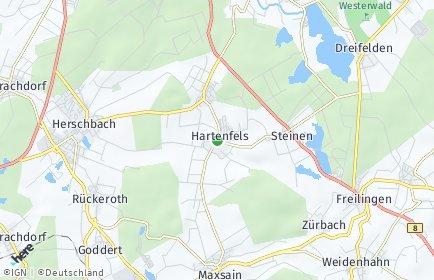 Stadtplan Hartenfels
