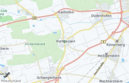Stadtplan Harthausen