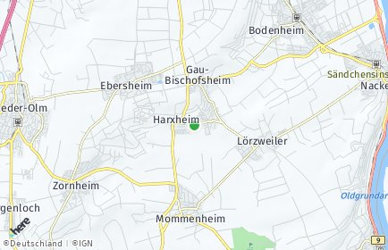Stadtplan Harxheim