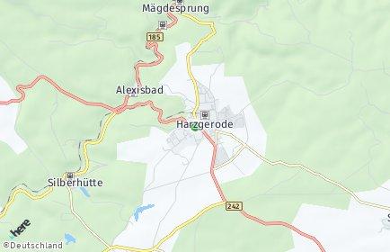 Stadtplan Harzgerode