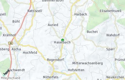 Stadtplan Haselbach (Niederbayern)