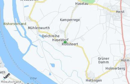 Stadtplan Haseldorf