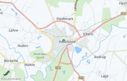 Stadtplan Haselünne