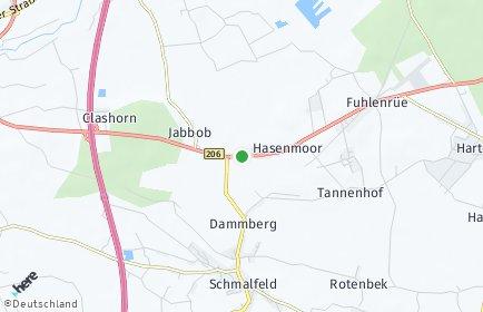 Stadtplan Hasenmoor