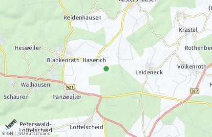 Stadtplan Haserich