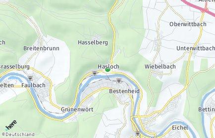 Stadtplan Hasloch