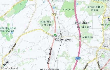 Stadtplan Hasloh