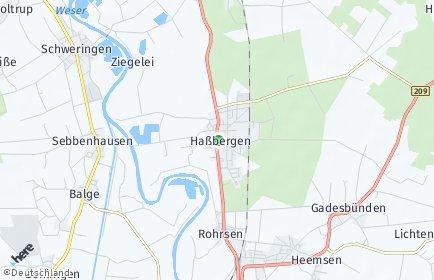 Stadtplan Haßbergen