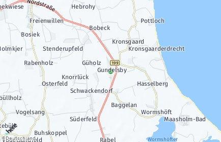 Stadtplan Hasselberg