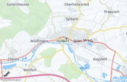 Stadtplan Haßfurt