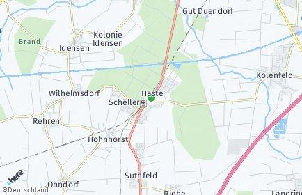 Stadtplan Haste