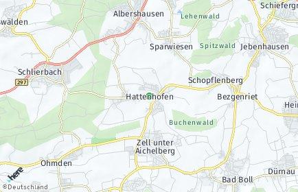 Stadtplan Hattenhofen (Württemberg)