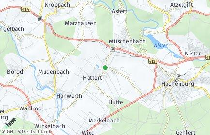 Stadtplan Hattert