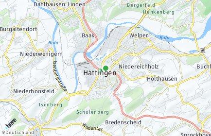 Stadtplan Hattingen