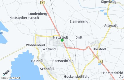Stadtplan Hattstedt