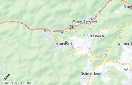 Stadtplan Hauenstein