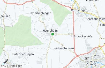 Stadtplan Haunsheim