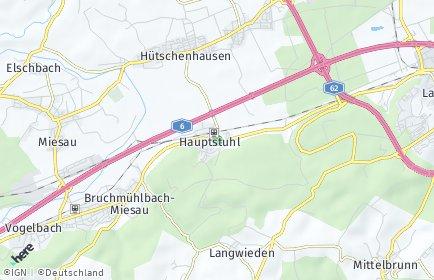 Stadtplan Hauptstuhl