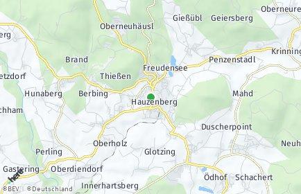 Stadtplan Hauzenberg