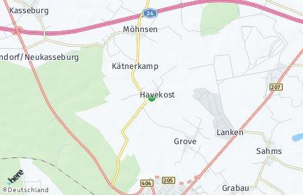 Stadtplan Havekost