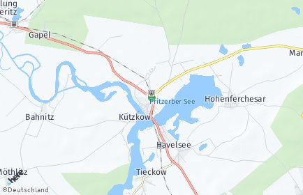 Stadtplan Havelsee