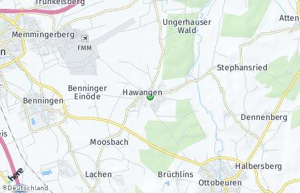 Stadtplan Hawangen