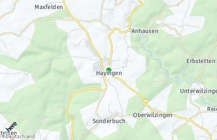 Stadtplan Hayingen OT Weiler